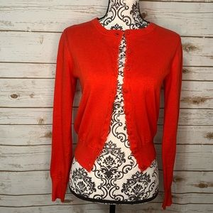 CAbi Red Poppy Cardigan #297